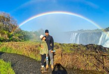 Photo of Celebrities that visited the Victoria Falls this festive season