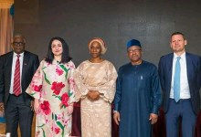 Photo of First Lady hosts UN mission on communicable diseases