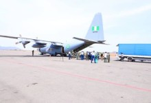 Photo of Covid-19: NAF airlifts Jack Ma medical materials donation to Abuja