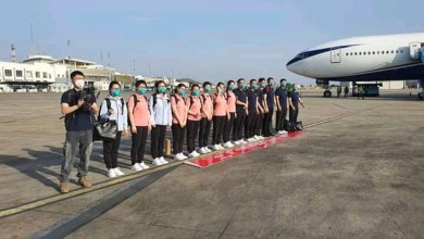 Photo of Chinese doctors arrival: They'll be quarantined for 14 days- FG