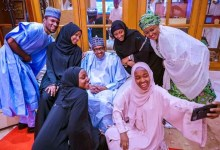Photo of Buhari holds Eid prayers with family at home against mass gathering