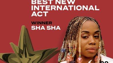 Photo of Zimbabwe's ShaSha wins BET Africa's viewers choice award