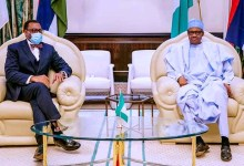 Photo of Buhari pledges support for Adesina as AfDB President second term