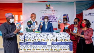 Photo of E-learning: First Bank donates 20,000 digital devices in Lagos