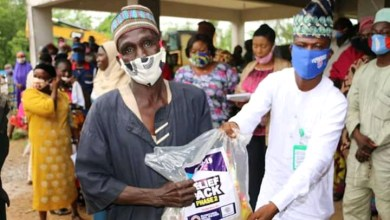 Photo of Oluyole LG Boss Distributes Palliative Package