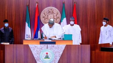 Photo of Buhari signs 2020 Amended Budget into law to protect Nigerian lives
