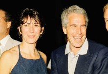 Photo of Ghislaine Maxwell, ex-girlfriend of Jeffrey Epstein arrested