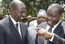 Photo of CS Matiang'i dares Ruto to Resign.
