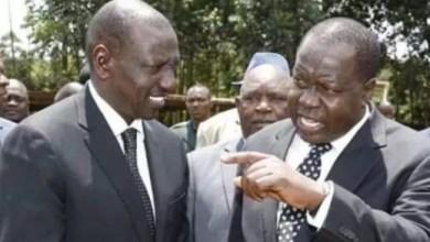 Photo of CS Matiang'i dares Ruto to Resign.