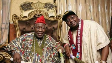 Photo of Adelabu Felicitates with Olubadan on His 92nd Birthday.