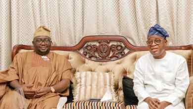 Photo of Adelabu Visits State of Osun Governor, Gboyega Oyetola