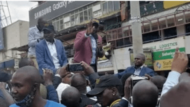 Photo of Deputy President Ruto lands in Kisii