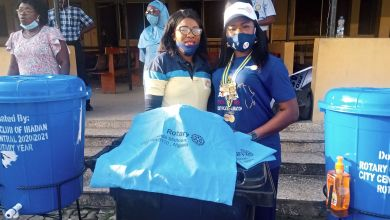 Photo of Rotary Club of Ibadan City Central Donates Wash Hand Basins, Others