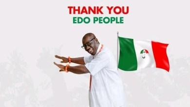 Photo of Edo: Buhari salutes election process, hails Obaseki's victory