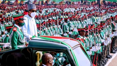 Photo of We'll increase manpower in Nigerian Army to secure nation – Buhari
