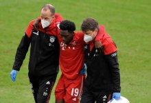 Photo of Alphonso Davies suffers ankle injury