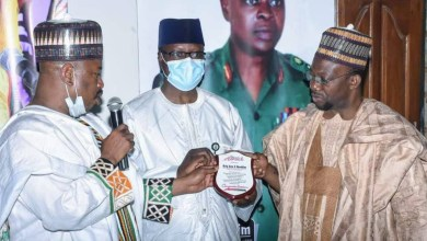 Photo of NYSC Director-General, others honoured for distinguished service