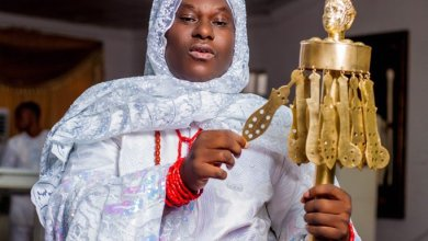 Photo of Ooni of Wife Delivers A Baby Boy