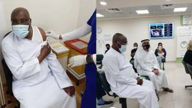 Photo of Nigeria former vice president receives COVID-19 vaccine