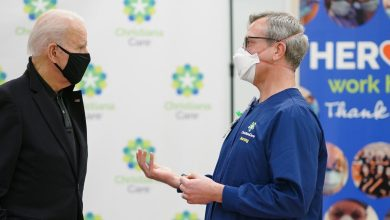 Photo of COVID-19: Biden gets second dose of vaccination