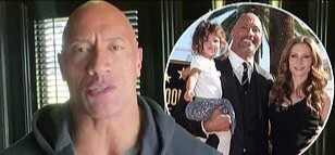 "Photo of US:Hollywood Actor, ""The Rock"", wife, kids confirmed COVID-19 positive"