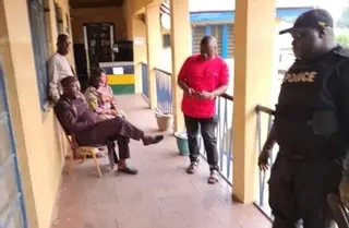 Photo of Sen. Okorocha Arrested For Breaking Into Wife's Seized Property