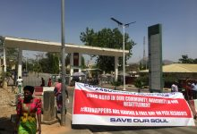 Photo of ABUJA:FCTA SECRETARIAT GATE SHUT