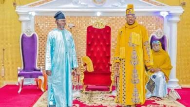 Photo of Oluwo Hosts Iwo-Born Ambassador, Prince Ismail Alatise