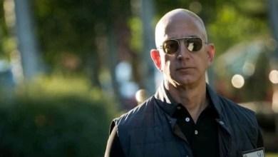 Photo of Amazon Boss, Jeff Bezos with net worth $182bn makes world richest