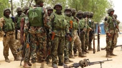 Photo of NIGERIAN ARMY HEADQUARTERS CUT FIRE