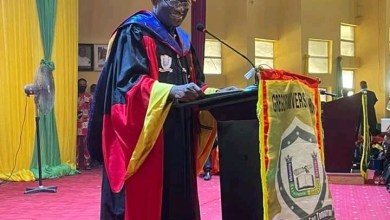 Photo of Jonathan Bags Honorary Doctor of Public Administration Award