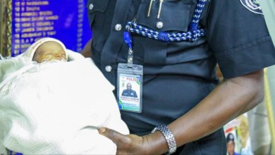 Photo of Breaking: Police rescues abandoned day old baby in Lagos
