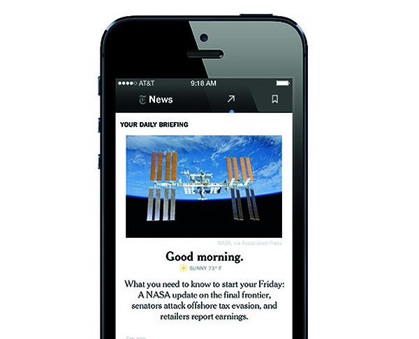 Le NYT lance une nouvelle application mobile pour fidéliser ses lecteurs
