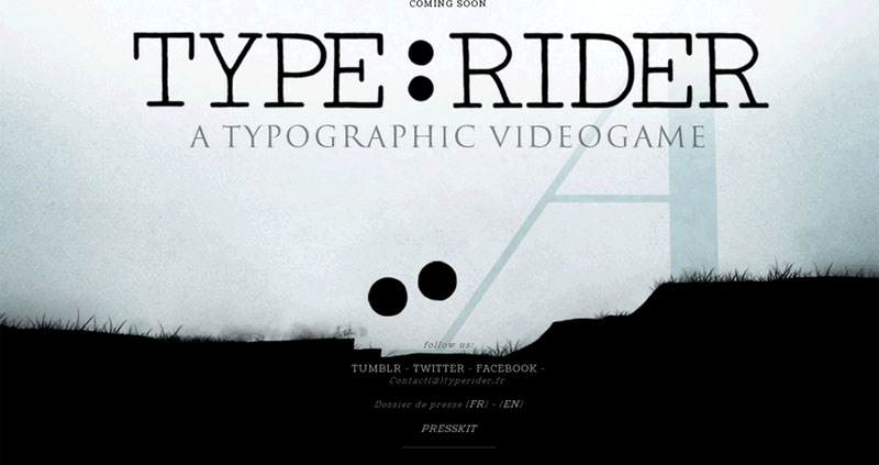Type-Rider, prix 2014 des nouvelles écritures de la Scam