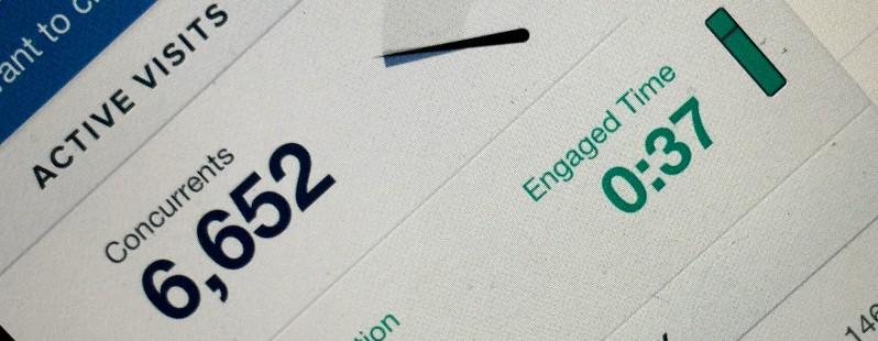 Chartbeat propose d'utiliser l'attention accordée par les internautes aux articles comme indicateur éditorial et commercial.