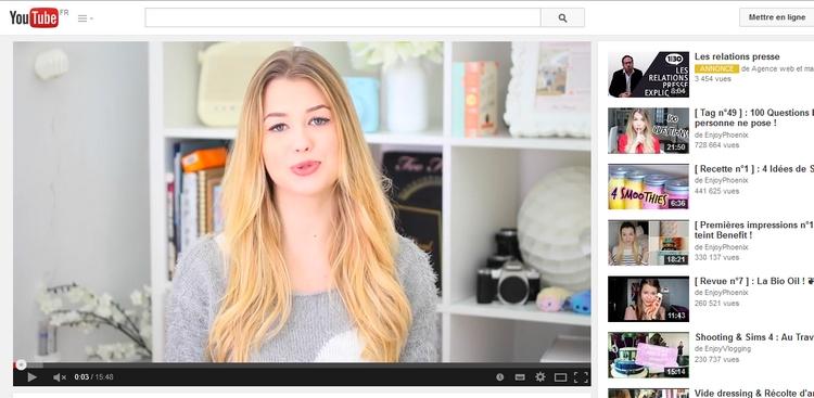 Les Youtubeuses pèsent plus lourd sur Internet que la presse féminine