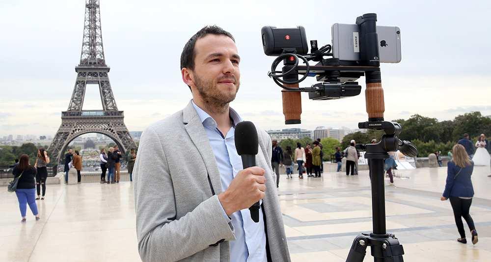 Des questions sur le journalisme et la vidéo mobiles? Restez à l'écoute!