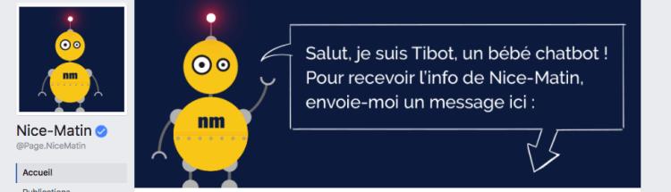 Nice-Matin lance le premier chatbot de presse locale en France