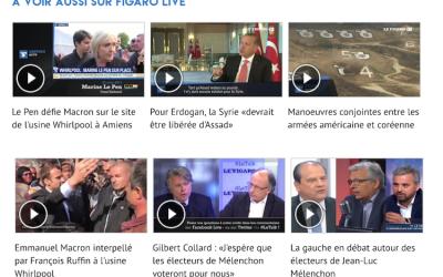 Pourquoi le Figaro met le paquet sur la vidéo en direct