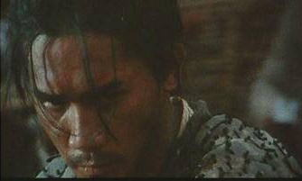 Tony Leung Chiu Wai as the Blind Swordsman in Ashes of Time