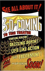 3-D Movie Poster