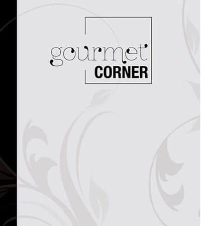 Gourmet corner packaging branding editorial graphic design - Diseño de cartas de restaurante