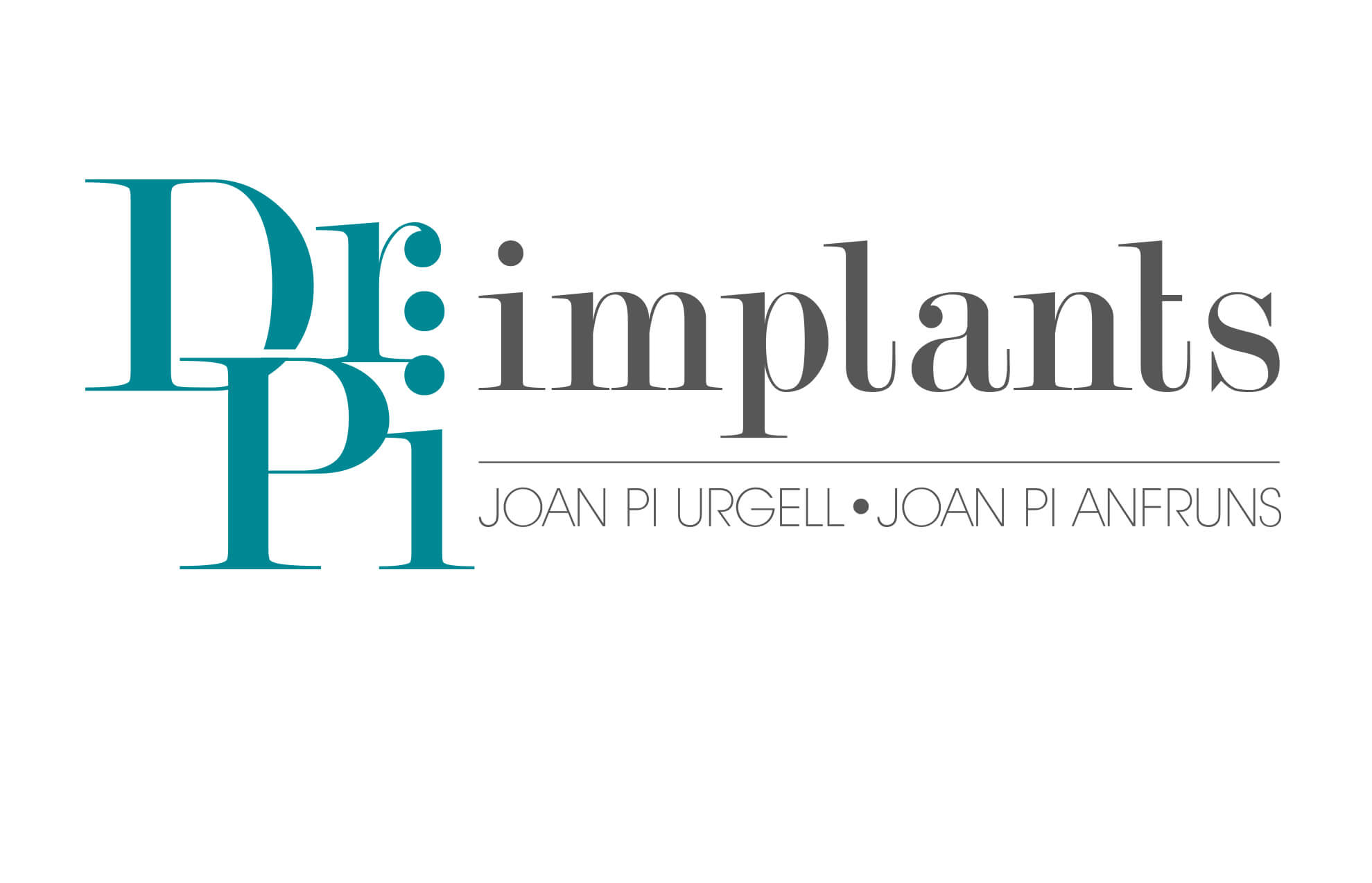 Dr Pi logotipo restyling branding1 - Restyling de marca corporativa