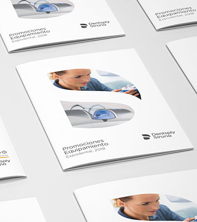 graphic design and communication studio - Catàleg per a sector dental