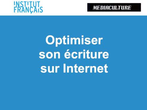 optimiser ecriture web- cyrille frank