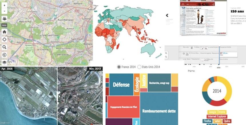 Dataviz, infographies, animations interactives : la boîte à outils