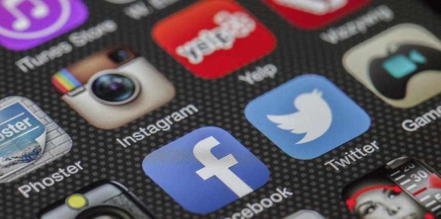 Twitter, facebook, Instagram et consorts
