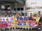 Brigsus PKN Medan Bersihkan Masjid Amaliyah