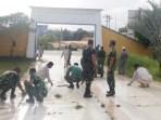 Sambut HUT ke-75, Unsur TNI Laksanakan Karya Bakti di TMP