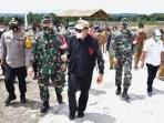 Jelang Kunjungan Presiden RI ke Humbahas, Gubsu Tinjau Lokasi